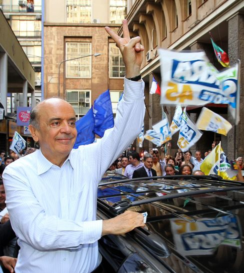 Presidential Candidate Jose Serra