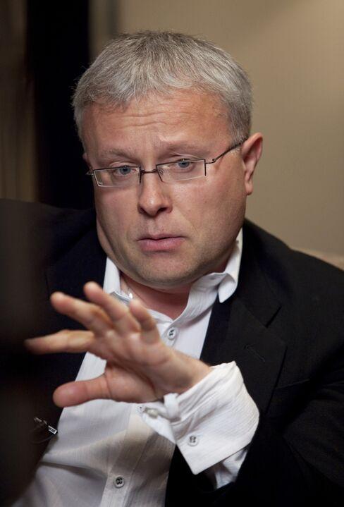 Russian Billionaire newspaper owner Alexander Lebedev