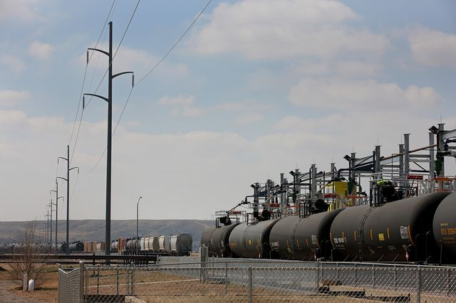 Oil exports don't explain most of the U.S.'s current account balance improvement. Photographer: Matthew Staver/Bloomberg