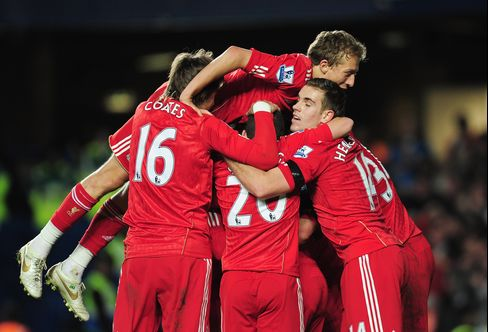 Liverpool Beats Chelsea in Carling Cup