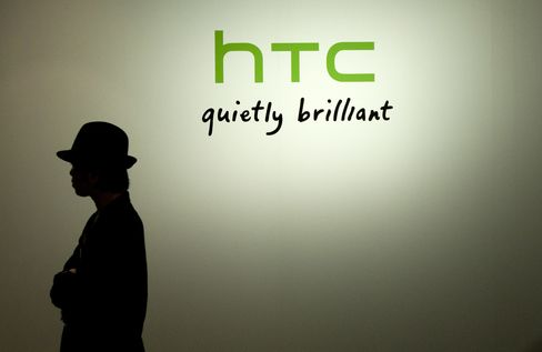 HTC Net Income Declines by Record as Samsung, Apple Grab Sales