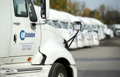 Trucker Shares Seen Ready to Rally in U.S.