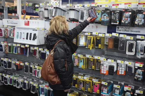 A Customer Shops at a Best Buy Co. Store in Northbrook