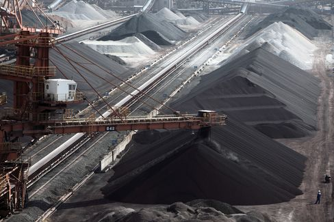 Iron-Ore Rout Seen Curbing Losses for Commodity Ships