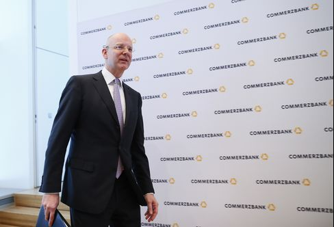 Commerzbank Chief Executive Officer Martin Blessing