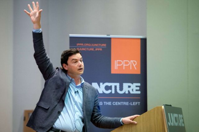 Motivational speaker Thomas Piketty.