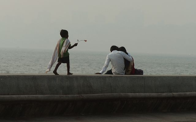 First comes love, then comes marriage, then comes household inequality. Photographer: Punit Paranjpe/AFP/Getty Images
