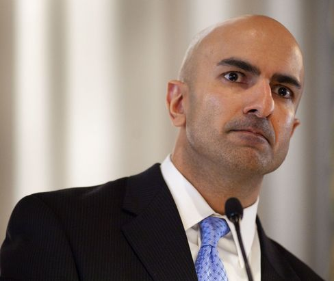 Stock Swings to Rise on Fiscal Cliff, Pimco's Kashkari Says