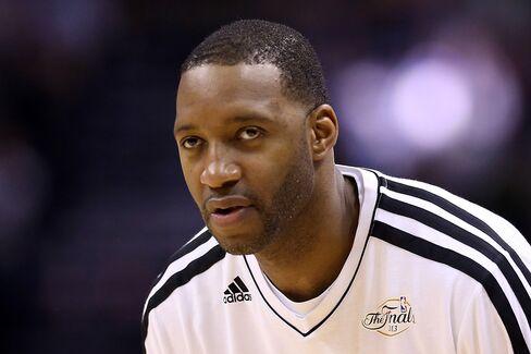 San Antonio Spurs Player Tracy McGrady