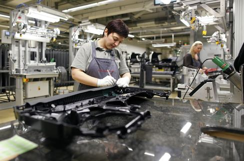 German June Industrial Production Fell on Construction Output