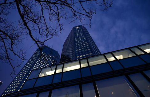 Deutsche Bank Cut to Sell at Goldman on U.S. Capital Concern