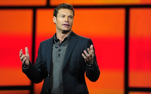 Radio and TV Producer Ryan Seacrest at CES