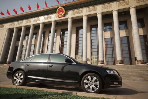 Audi Spurns China Company-Car Role to Rebuild Market Share