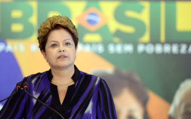 BrazilianPresident Dilma Rousseff makes a play for the true believers ahead of World Cup.