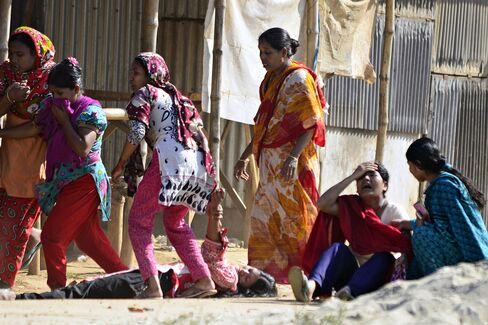 Bangladesh Garment Protests