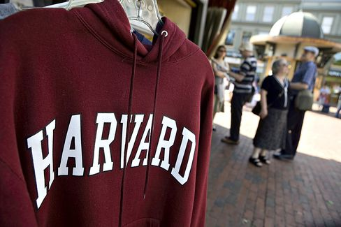 Harvard-for-Free Meets Resistance as U.S. Professors See Threat
