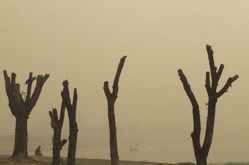 Haze in Sumatra