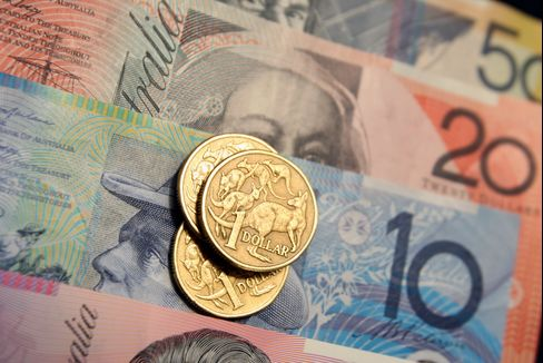 RBA Says Up to 34 Central Banks Hold Australian Dollar Reserves