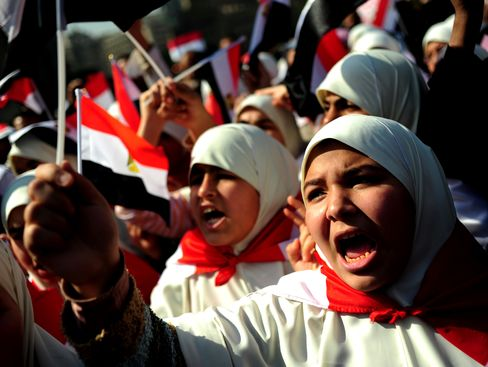 Arab Women See Protests Creating Opportunity for Rights