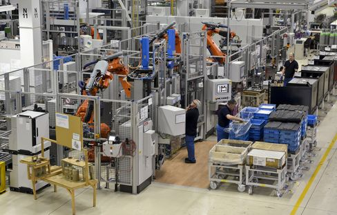 German Industrial Production Unexpectedly Stagnated in January