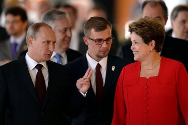 For Putin and Rousseff, a development bank is beside the point.