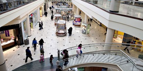 U.S. Regional Mall Vacancies at Decade High
