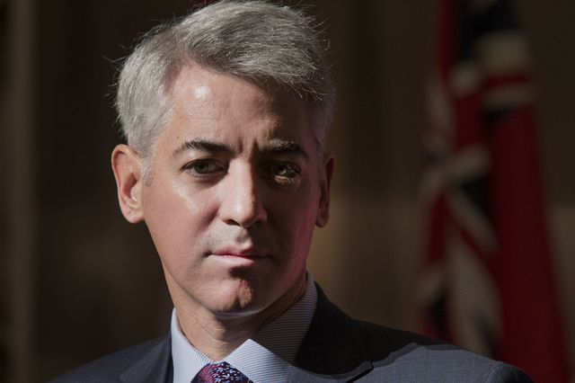 Bill Ackman, working in the shadows. Photographer: Norm Betts/Bloomberg