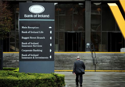 Bank of Ireland Says Margin Goal 'Challenging' as Loss Soars