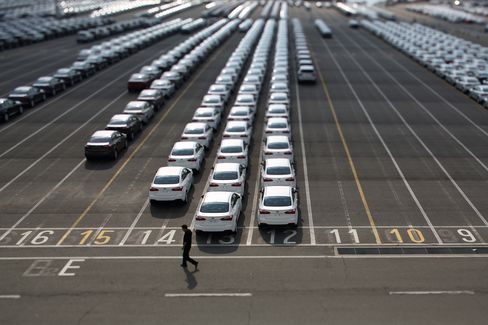 Kia Vehicles Bound For Export
