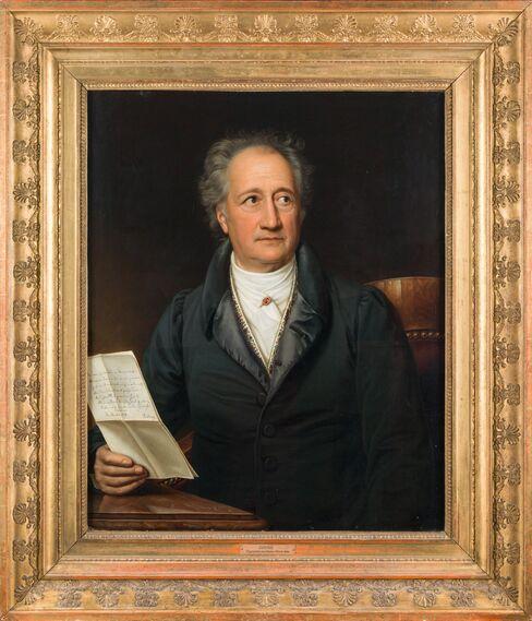 Johann Wolfgang von Goethe Portrait