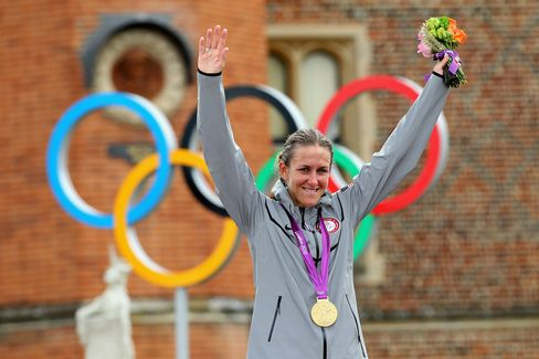 Kristin Armstrong of U.S. Wins Olympic Cycling Time-Trial Gold