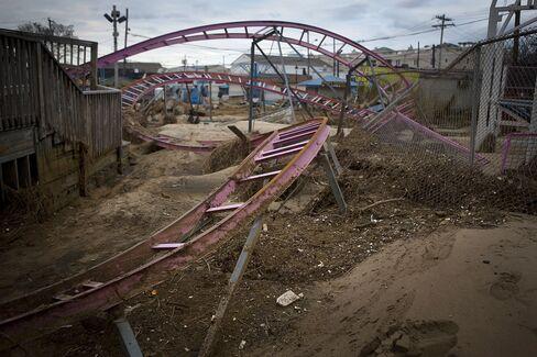 Jersey Shore Amusements Race Time to Rebuild for Beach Season