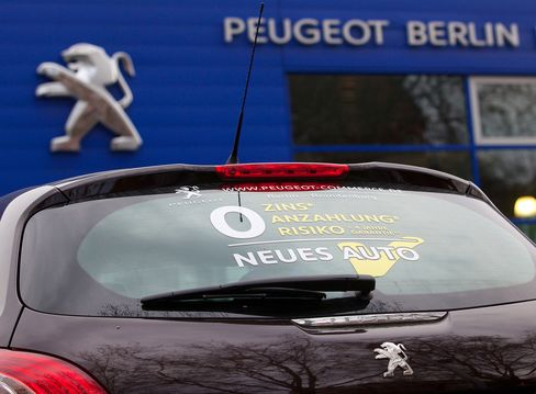 VW to Peugeot Vote for German Election as Consumers Dither