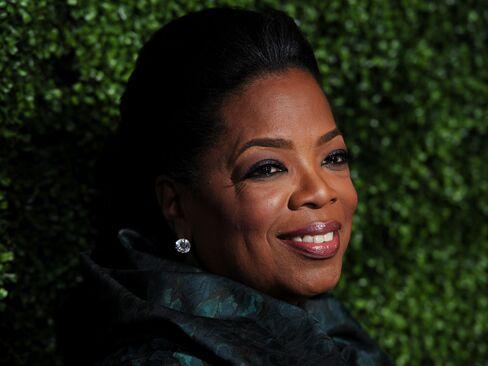 Television Personality Oprah Winfrey