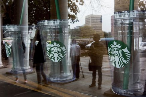 Starbucks Plans Mobile-Order Test This Year in Digital Push