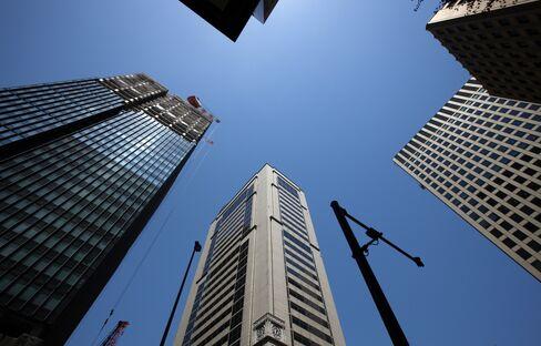 Tokyo Reversing Two-Decade Slide in Office Rentals