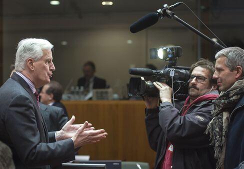 European Union Financial Services Chief Michel Barnier