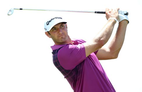 American Golfer Dustin Johnson