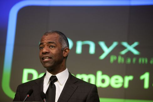 Onyx Pharmaceuticals CEO N. Anthony Coles