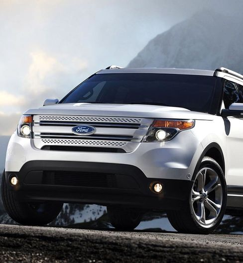 Explorer sales jumped 73 percent in January as the SUV became the fastest moving Ford model. Source: Ford