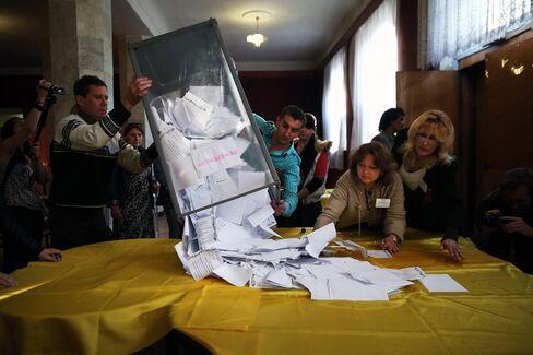 Referendum Vote In Eastern Ukraine