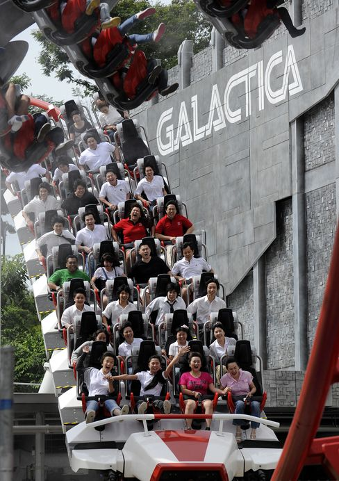 'Battlestar' May Help Double Genting Singapore Profit
