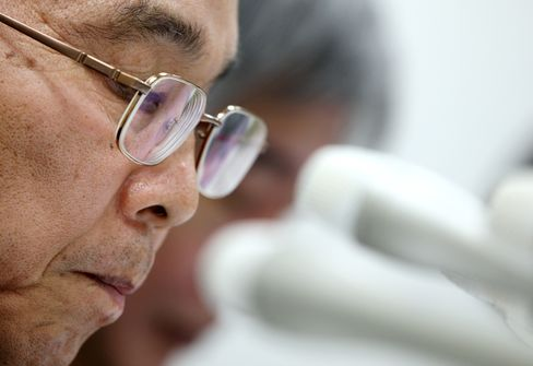 Elpida Memory CEO Yukio Sakamoto
