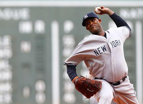 NY Yankees Pitcher CC Sabathia