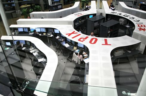 Tokyo Exchange Enters $30 Billion Merger Wave