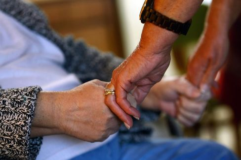 At nursing homes, 78 percent of $105 billion in revenues went to for-profits in 2010, up from 72 percent in 2002, according to the latest available government breakdowns. Photographer: Getty Images