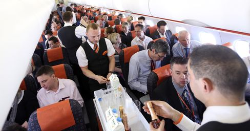 Budget Airline EasyJet Launches Its First Flight To Russia