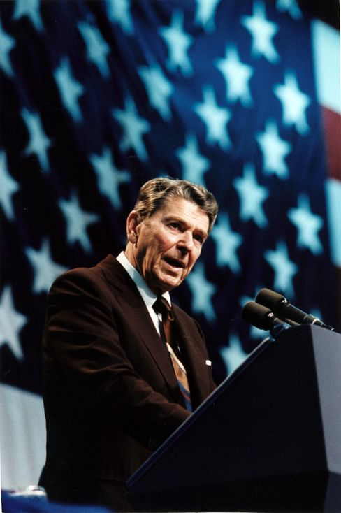 Candidates Channeling Reagan Don't Talk About His Tax