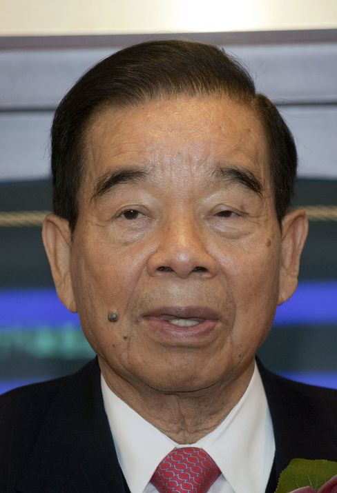 Billionaire Cheng Yu-tung