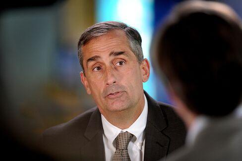 Intel CEO-Designate Krzanich Plans Faster Shift to Mobile Chips